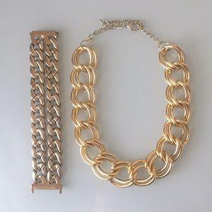 Jewelry - Chain Bracelet & Necklace